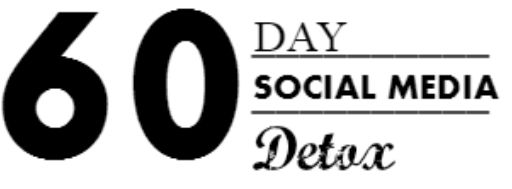 """Detox, like a addict.  Yea, you read it right.  A social media DETOX for sixty days.  Honestly, it was coming for me a while now.  The excuses to sit on Facebook and snapchat all day were catching up to me, family and friends were beginning to make witty remarks like """"oh no, she's got the phone glued to her again""""."""