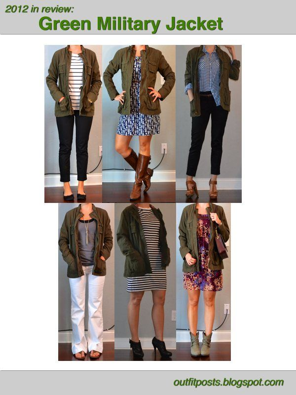 Outfit Posts: 2012 in review - outfit posts: green military jacket