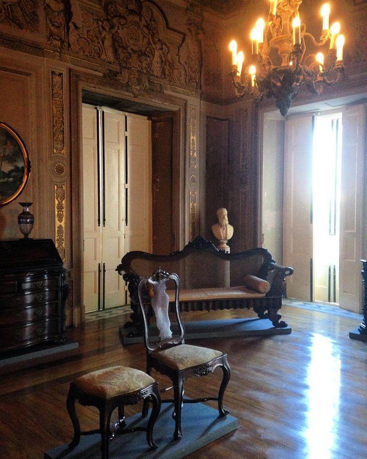 Salão preservado no Palácio Imperial São Cristóvão, Quinta da Boa Vista, Rio de Janeiro