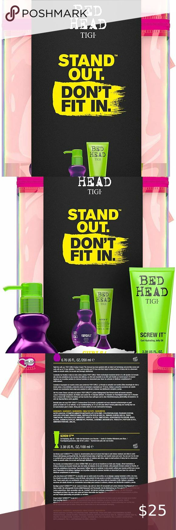 TIGI Bed Head Curly Hair Gift Set with Hydrating in 2020