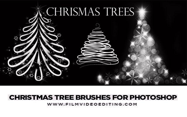 Christmas Tree Brushes For Photoshop Christmas Tree Brushes For Photoshop Free Download And Use You Will Know H Photoshop Photoshop Brushes Christmas Tree