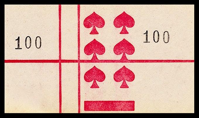 100 of spades: Design Inspiration, 100 Spade, Redspades150 Sheaff, Pure Visual, Graphics Design, Sheaff Ephemera, Red Spade, Fresh Insight, Plays Cards