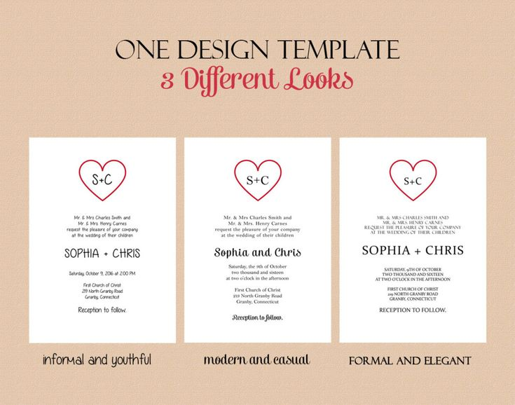 free pdf download wedding invitation template text based invitation template featuring a simple heart