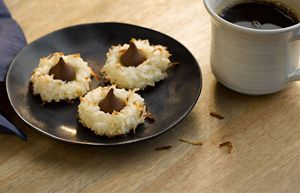 Hershey Coconut Macaroon Blossoms