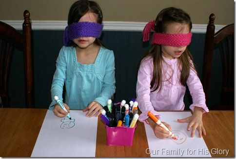 Love this idea. I even had to do this in high school. Great way for children to really use their imagination!