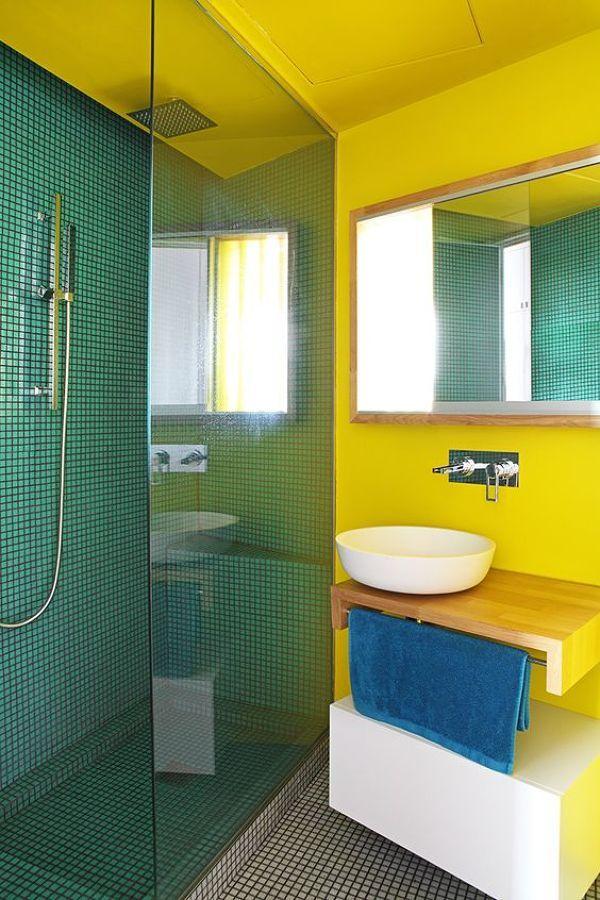 17 mejores ideas sobre baño amarillo en pinterest