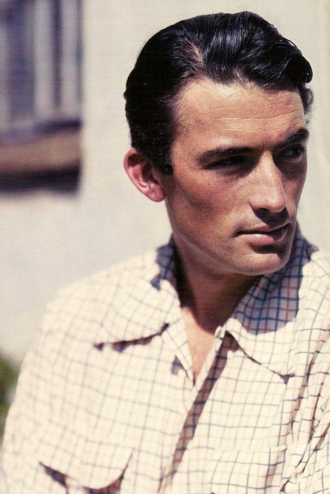 Gregory Peck Ca 1945 We Had Faces Then A For Actor
