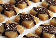 Microwave Sea Salt Caramels -- They're too easy to taste this good! (Secret Recipe Club)