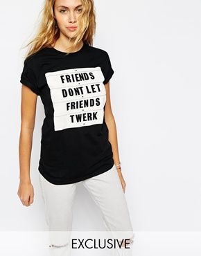 #friends #twerk #blackandwhite #tshirt #fashion #girls by ADOLESCENT CLOTHING