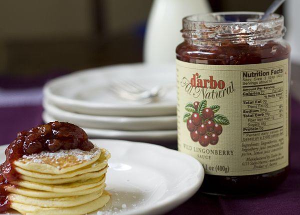 Lingonberry Jam. I can't get enough of this stuff.
