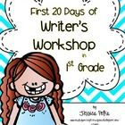 Want to try a writer's workshop approach with your 1st graders?  Not sure how to get started?  Here's a step-by-step guide on how to launch the writer's workshop! $
