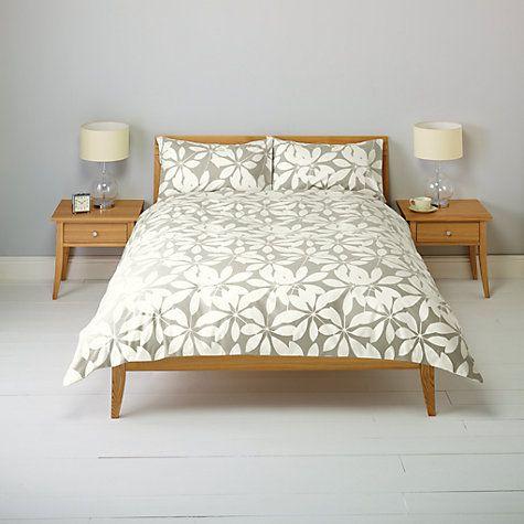 Buy John Lewis New Floral Duvet Cover and Pillowcase Set Online at johnlewis.com