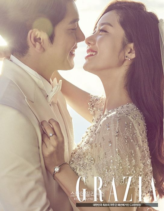 Han Groo glows in gorgeous pre-wedding pictorial with her fiance