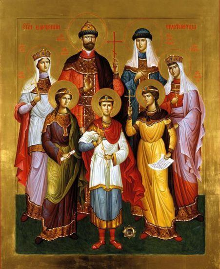 O czar Nicolau II e sua família foram canonizados pela Igreja Ortodoxa Russa.
