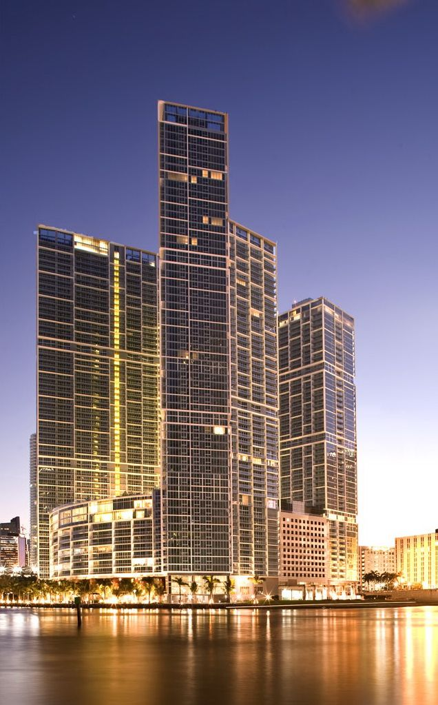 Icon Brickell is composed of three buildings