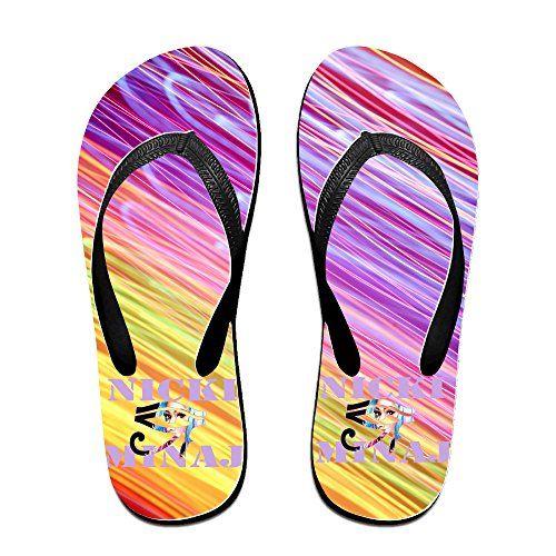 World Summer Sport Unisex High Quality Beach Flip-flops Thong Size S Black