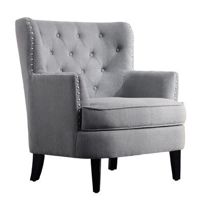 found it at wayfair chrisanna tufted upholstered club chair - Chair Living Room