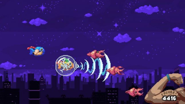 Gamasutra - What 10 seconds, procedural generation, and fish do for shoot-'em-up design