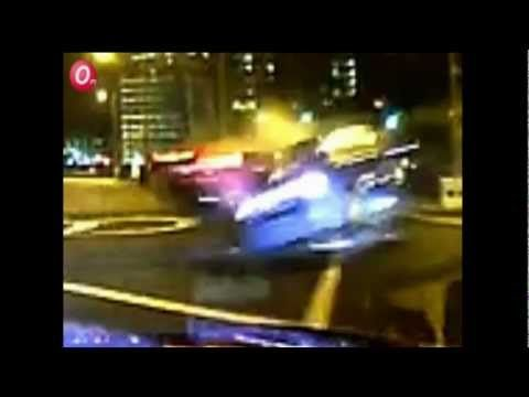 Fatal Accident: Ferrari crashed into Comfort Taxi at Bugis - YouTube