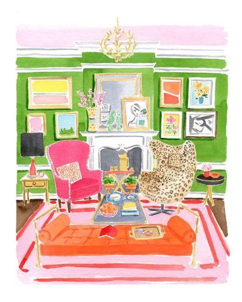 Home Decor illustration