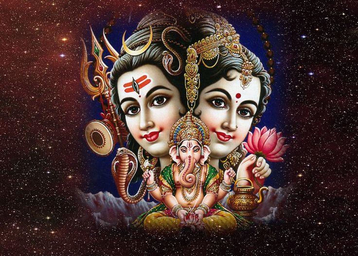 Shiv parvati ganesh hd wallpaper maha shivaratri