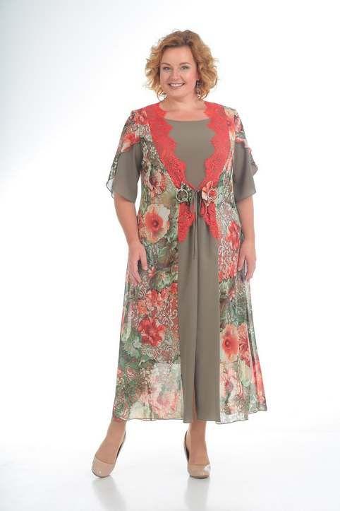 0d434840cb9 Шикарные платья для полных женщин белорусской компании Pretty лето 2018