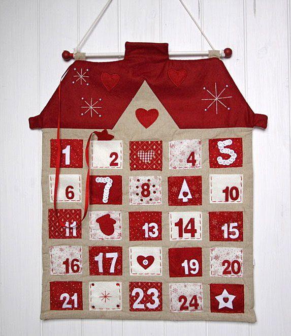Adventní kalendář Domek | JH Decor