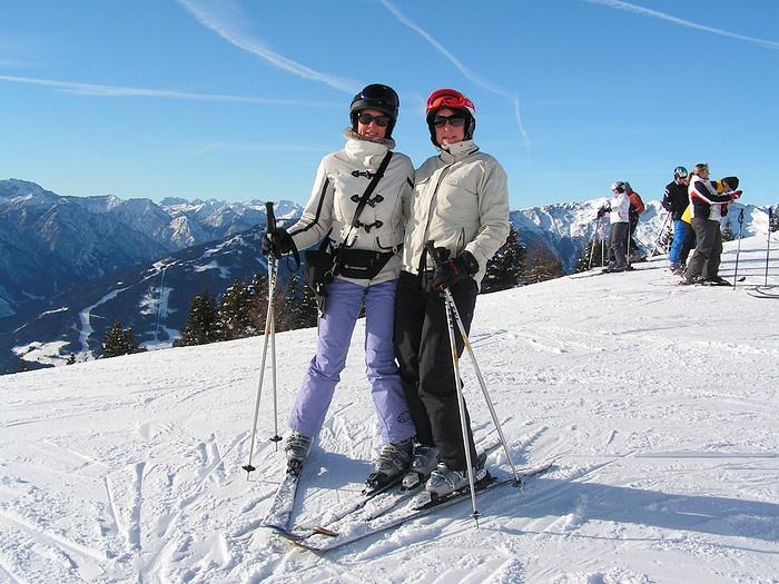 skieen in Lienz Oostenrijk