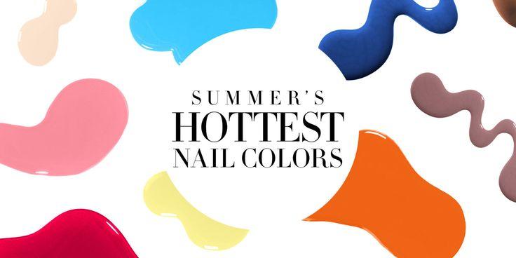 Charting: 12 Must-Have Summer Nail Shades