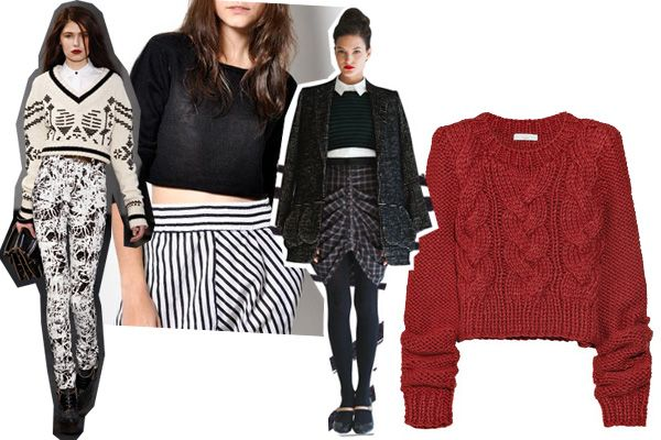 Cropped Sweaters And How To Wear 'Em!