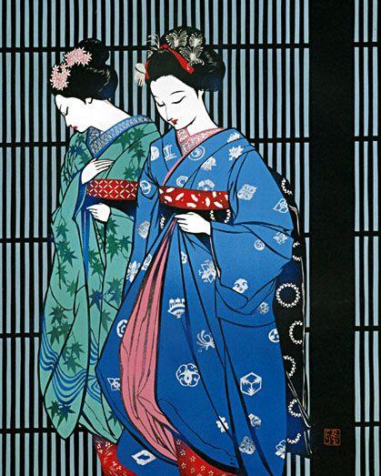 Miyata Masayuki (1926-1997) 宮田雅之 Maiko舞妓、after 1950
