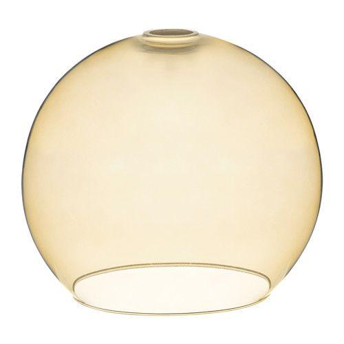 IKEA JAKOBSBYN Pendant lamp shade Light brown