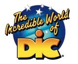 DiC Entertainment - was founded in 1971 by Jean Chalopin in Paris. In addition to animated (and occasionally live-action) shows such as Ulysses 31, M.A.S.K, Inspector Gadget & Real Ghostbusters, DiC produced the 1999 live-action Inspector Gadget movie. In 2008 DIC & Cookie Jar Group merged & the DIC name ceased to exist.