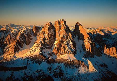 Dolomites, UNESCO heritage