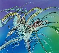 batik painting abstract - Google zoeken