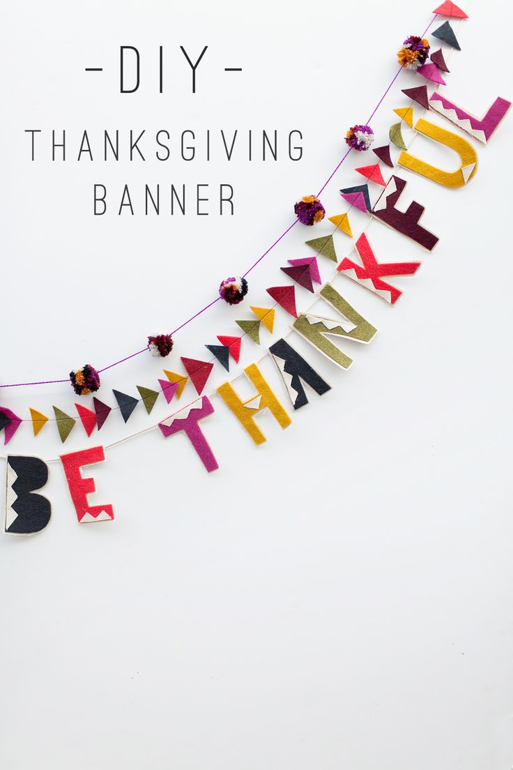TELL: THANKSGIVING BANNER - Tell Love and PartyTell Love and Party