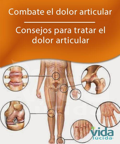Combate el dolor articular.