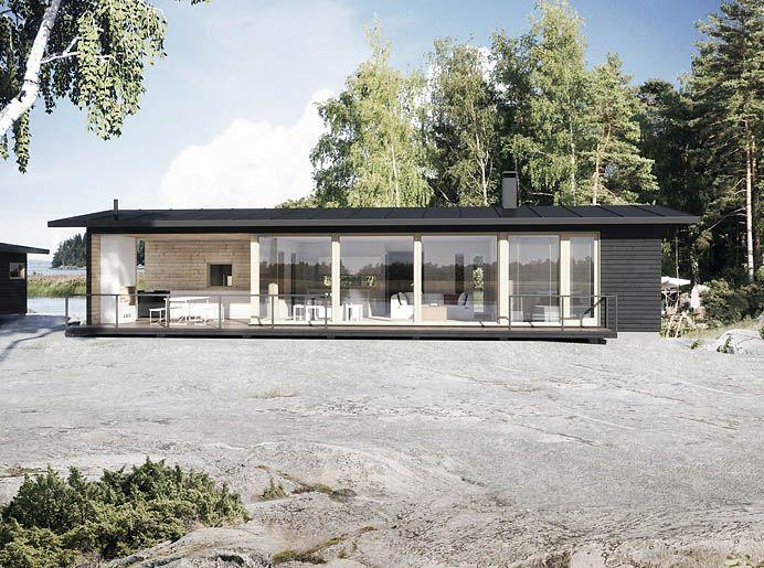 Sunhouse S170_S171. Architect: Kalle Oikari.