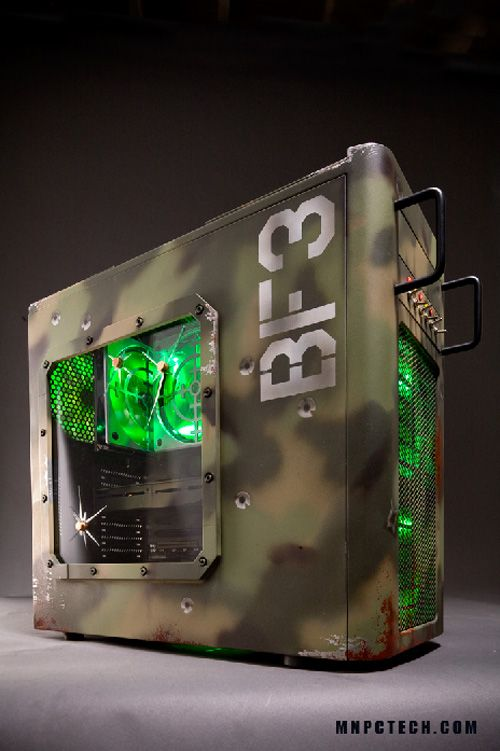 """""""BF3"""" Tribute PC for Fractal Design by Mnpctech"""
