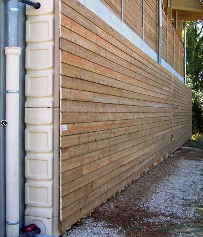 Rainwater tank / water storage / overground RESERVOIR   COLLECTOR Circeo-partners