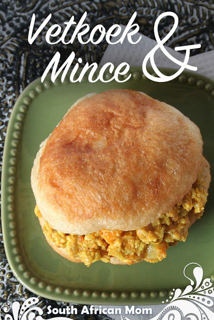South African Mom: Vetkoek & mince: traditional and quick method