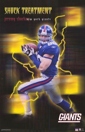 Jeremy Shockey - Shock Treatment - #NYG - #Miami #Hurricanes #nfl #saints - New York Giants
