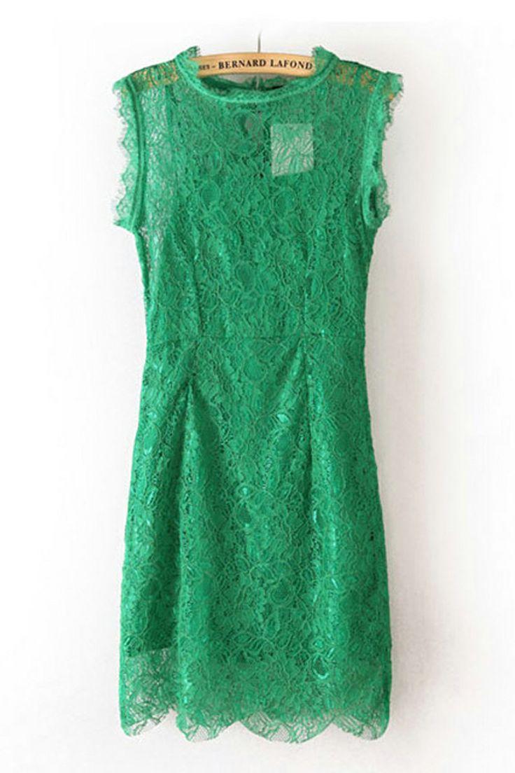 Kelly Green Lace Dress | cute | Pinterest | Green, Lace ...