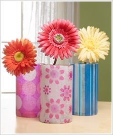 Tissue Vases : Centerpieces : Shop | Joann.com to make with kinkajou