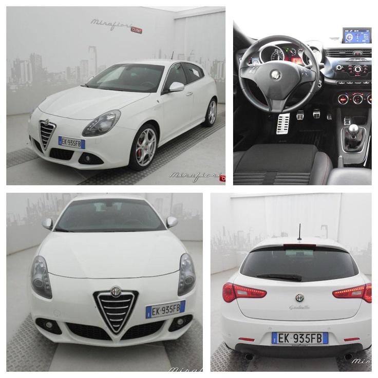 Alfa Romeo Giulietta 1.750 tbi 235 CV quadrifoglio, usata, del settembre 2011 color Bianco ghiaccio. La trovate in provincia di Brescia.      #AlfaRomeo #usato #lanostravetrina #mirafiorioutlet