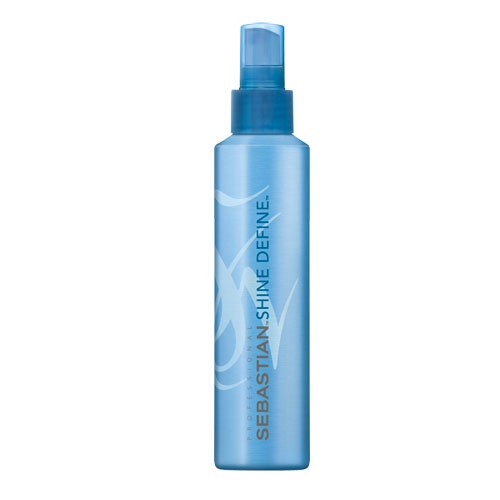 Look after your extensions this summer by using Sebastian Shine Define spray to soften up your hair and smooth it down.