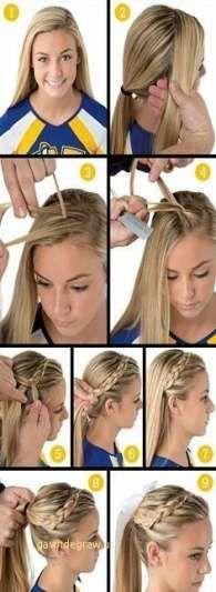 37 Ideen Frisuren für mittellanges Haar Tutorial Schulen
