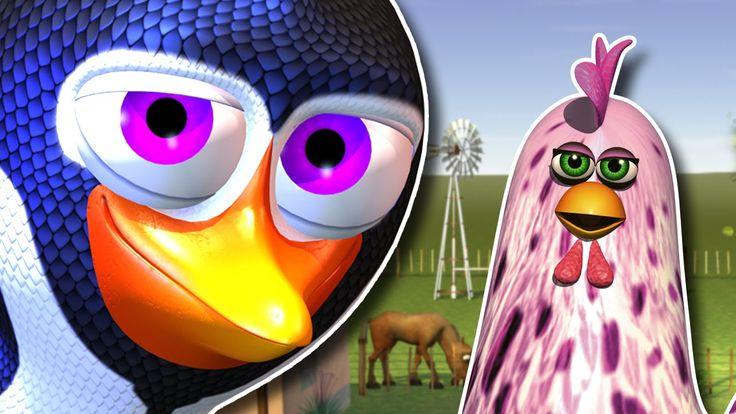 El Pingüino y la Gallina - Las Canciones de la Granja 3