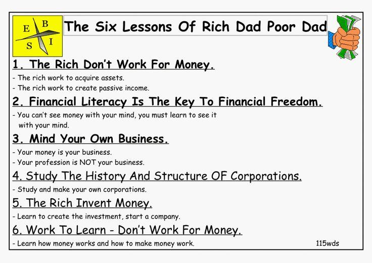 robert kiyosaki rich dad poor dad pdf
