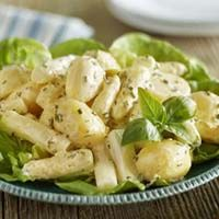 Aardappel-aspergesalade